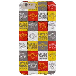 Weinig Misser Sunshine   Rood & Geel Patroon Barely There iPhone 6 Plus Hoesje