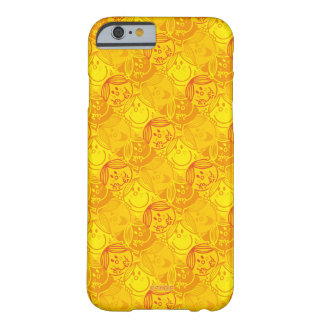 Weinig Misser Sunshine   Zonnig Geel Patroon Barely There iPhone 6 Hoesje
