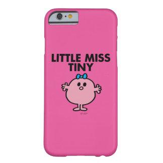 Weinig Misser Tiny   het Zwarte Van letters Barely There iPhone 6 Hoesje