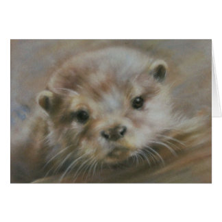 Weinig Otter Wenskaart