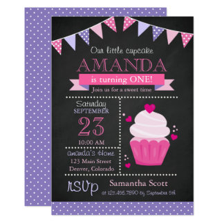 Weinig Partij van de Verjaardag van het Bord 12,7x17,8 Uitnodiging Kaart