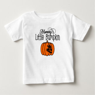 Weinig pompoen van de mama. Halloween Baby T Shirts