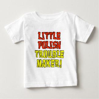 Weinig Poolse Maker van het Probleem Baby T Shirts