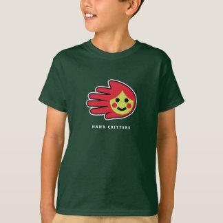 Weinig Rode Berijdende t-shirt van de Kap