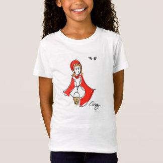 Weinig Rood Berijdend Overhemd van de Kap T Shirt
