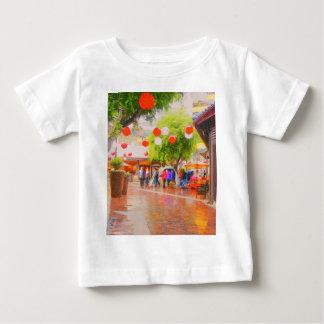 Weinig Schilderen van het dorp van Tokyo het Baby T Shirts