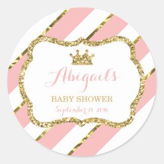 Weinig Sticker van het Baby shower van de Prinses,