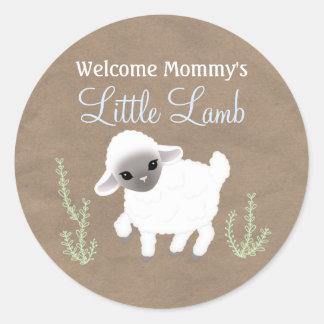 Weinig Sticker van het Lam