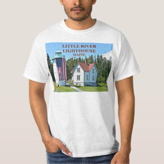 Weinig Vuurtoren van de Rivier, de T-shirt van