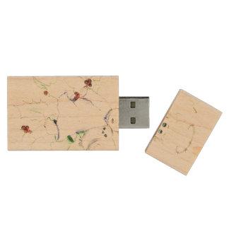 Weinig Zacht en Dromerige Engel - Houten USB 2.0 Stick