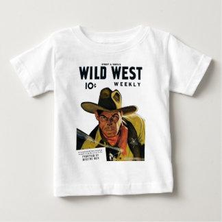 Wekelijkse Wilde Westennen - Grens van Ontbrekend Baby T Shirts