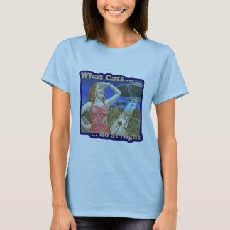 Welke Katten bij Nacht doen T Shirt