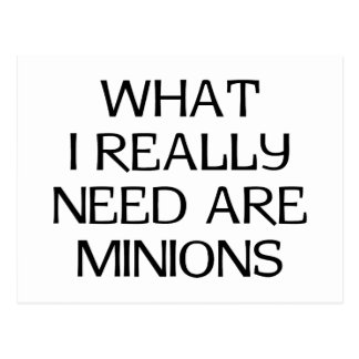 Welke Minions Briefkaart