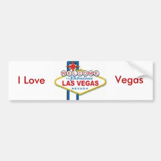 Welkom-aan-Las-Vegas Bumpersticker