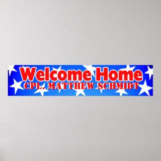 Welkom Huis Poster