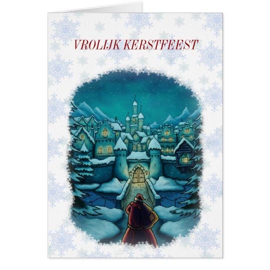 welkom kerstman kerstkaart nl kaart