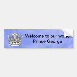Welkom Prins Charles Bumpersticker