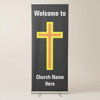 """Welkome"""" Verticale Banner de Christelijke van de Roll-up Banner"""