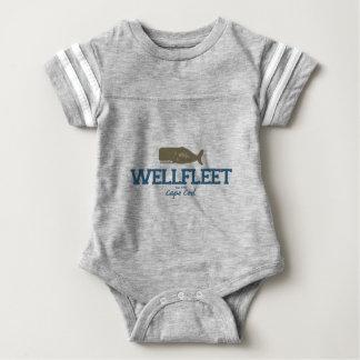 Wellfleet - de Kabeljauw van de Kaap Baby Bodysuit