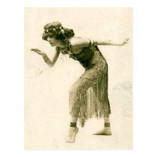 Wellustig Vintage La Sylphe van de Danser van de Briefkaart