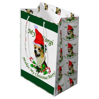 Welse Kerstmis Corgi van Pembroke Medium Cadeauzakje