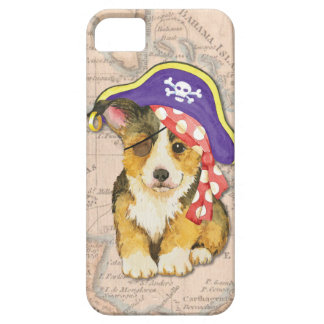 Welse Piraat Corgi Barely There iPhone 5 Hoesje