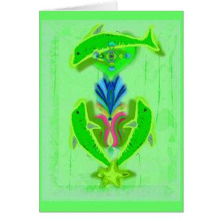 welvaart dolfijnen briefkaarten 0