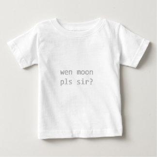 wen de maan pls heer? baby t shirts