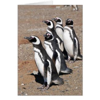Wensen van de Verjaardag van de pinguïn de Notitiekaart