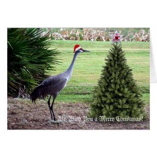 Wensend u Vrolijke Kerstmis Briefkaarten 0
