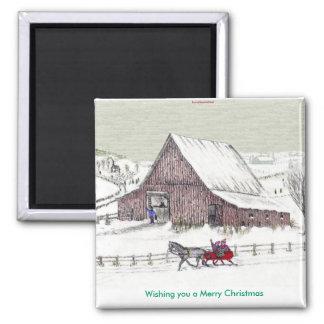 Wensend u Vrolijke Kerstmis… Magneet