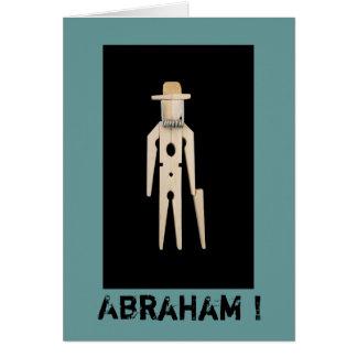 Wenskaart Abraham 50 jaar