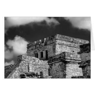 Wenskaart - Mayan Ruïnes - Tulum, Mexico