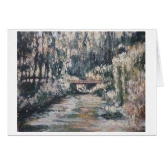 Wenskaart van de Tuin van de impressionist het