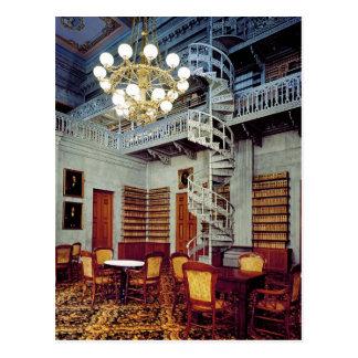Wenteltrap, de Bouw van het Capitool van de Staat Briefkaart