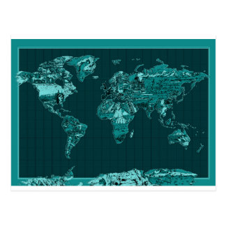 wereld kaart 11