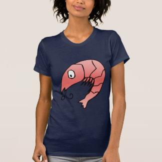 Wereld van de T-shirt van Garnalen