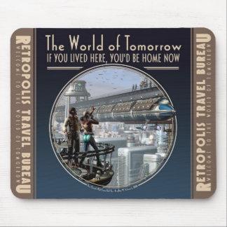 Wereld van het Stootkussen van de Muis van Morgen Muismat