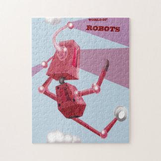 wereld van robots legpuzzel