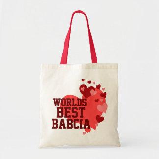 Werelden Beste Gepersonaliseerde Babcia Draagtas