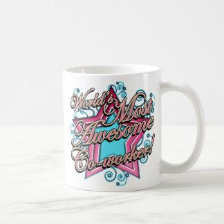 Werelden de Meeste Geweldige Medewerker Koffiemok