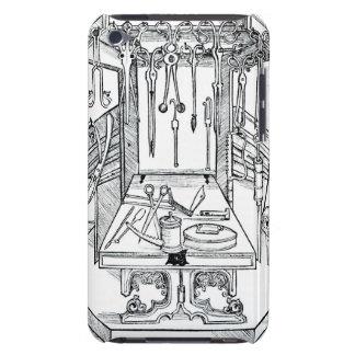 Werkende lijst en chirurgische instrumenten, van iPod touch hoesje