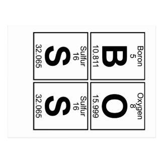 WERKGEVER (boss) - Hoogtepunt Briefkaart