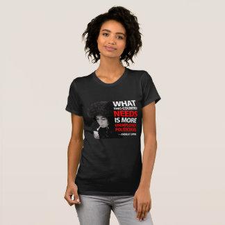 Werkloze Politici - Angela Davis T Shirt