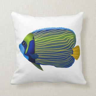 Werp hoofdkussen-Tropische Vissen Sierkussen