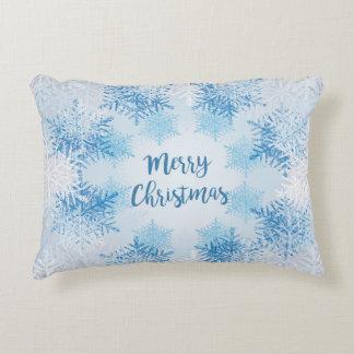 Werp Vrolijke Kerstmis van het Hoofdkussen met Accent Kussen