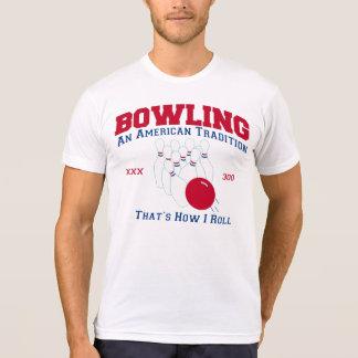 Werpend een Amerikaanse traditie 300 zo rol ik T Shirt