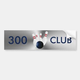 Werpende Club 300 Bumpersticker