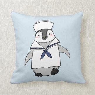 Werpt de Leuke pinguïn van het Hoofdkussen van de Sierkussen