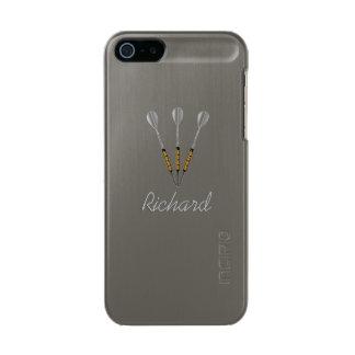 Werpt Gepersonaliseerd/Monogram Incipio Feather® Shine iPhone 5 Hoesje
